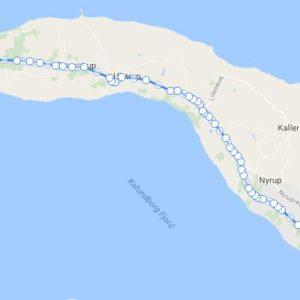 Ruterøsnæsløbet 16,2km