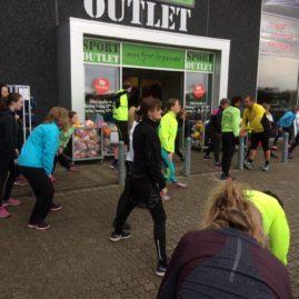 Shopping Hos Intersport Og Løbetræning På Stejlhøj Den 31. Oktober 2017