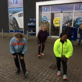 Løbetræning På Stejlhøj 27. April 2017 Billeder