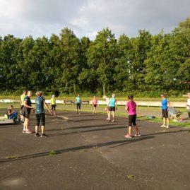 Opstart Af Outdoor Fitness 7. August 2017