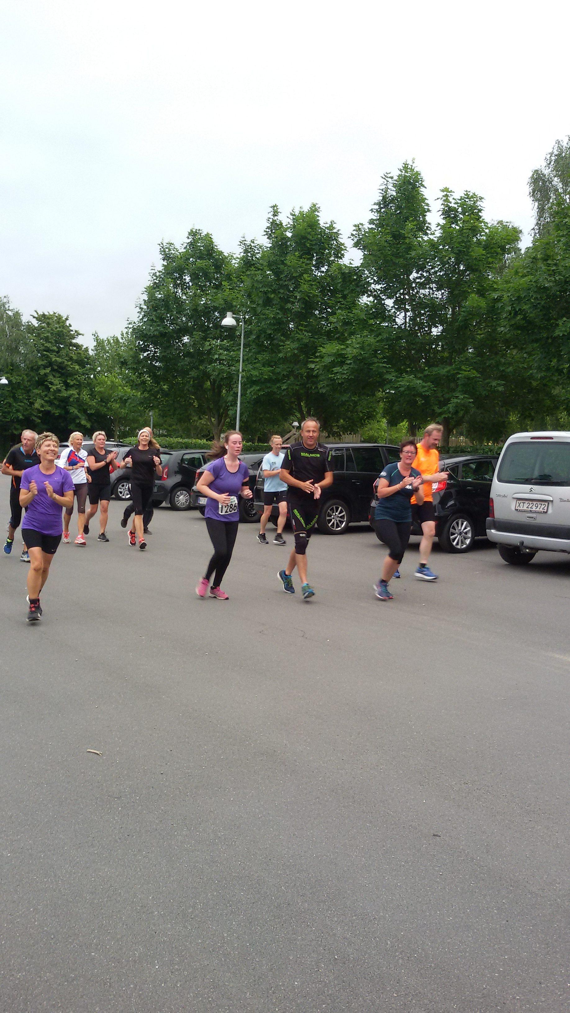 Løbetræning Tirsdag 12. September 2017